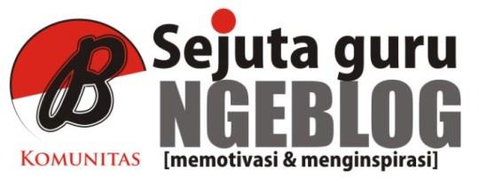 Logo Komunitas Sejuta guru ngeblog